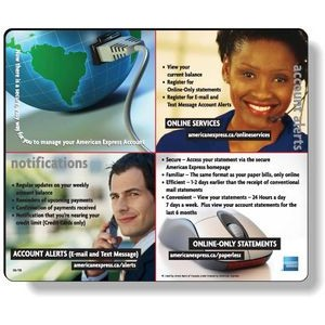 "Econo Mousepad Rectangular Shape (7.5"" x 9"") Sub-Surface Full Colour"