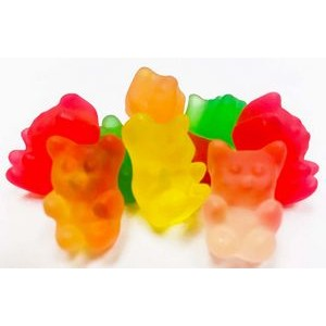 150g Gummy Bears with Full Color Label
