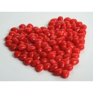 150g Cinnamon Hearts with Full Color Label